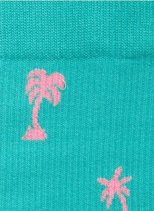 HAPPY SOCKS-棕榈树图案袜子