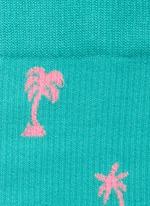 棕榈树图案袜子
