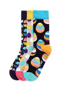 HAPPY SOCKSEaster egg socks 3-pair pack