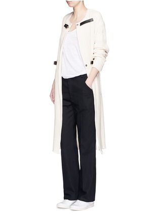 Figure View - Click To Enlarge - Isabel Marant Étoile - Cotton twill pants