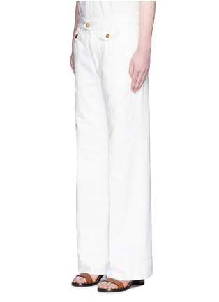 Front View - Click To Enlarge - Isabel Marant Étoile - Cotton denim jeans