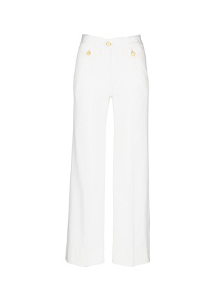 Main View - Click To Enlarge - Isabel Marant Étoile - Cotton denim jeans