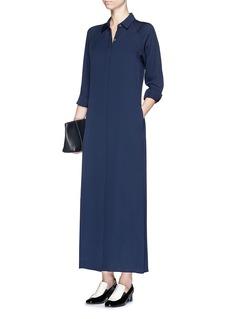 THEORY'Scenta' silk georgette shirt dress