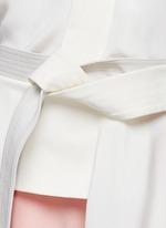Judo belt drape wrap top