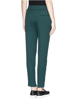 Back View - Click To Enlarge - 3.1 Phillip Lim - Smock waist silk pants