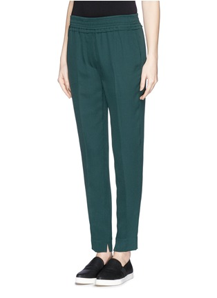 Front View - Click To Enlarge - 3.1 Phillip Lim - Smock waist silk pants