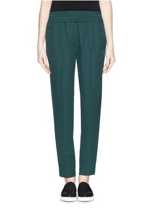 Main View - Click To Enlarge - 3.1 Phillip Lim - Smock waist silk pants