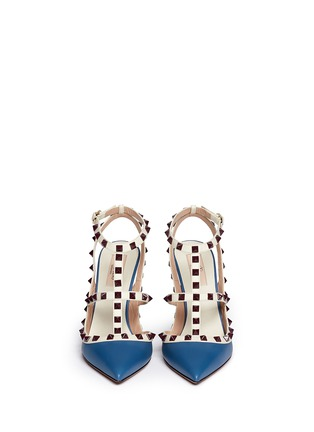 Figure View - Click To Enlarge - Valentino - 'Rockstud' caged leather pumps