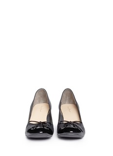 COLE HAAN 'Air Tali' leather wedge pumps