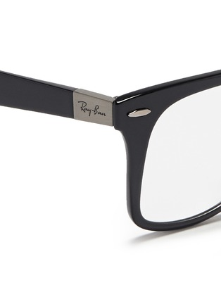 Detail View - Click To Enlarge - Ray-Ban - 'Wayfarer Liteforce' thermoplastic optical glasses