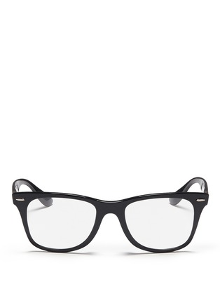 Main View - Click To Enlarge - Ray-Ban - 'Wayfarer Liteforce' thermoplastic optical glasses