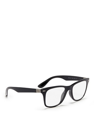 Figure View - Click To Enlarge - Ray-Ban - 'Wayfarer Liteforce' thermoplastic optical glasses