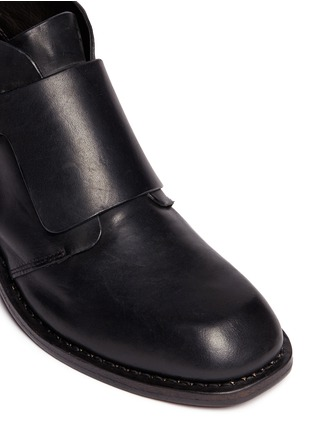 Detail View - Click To Enlarge - rag & bone - 'Nevin' monk strap leather ankle boots