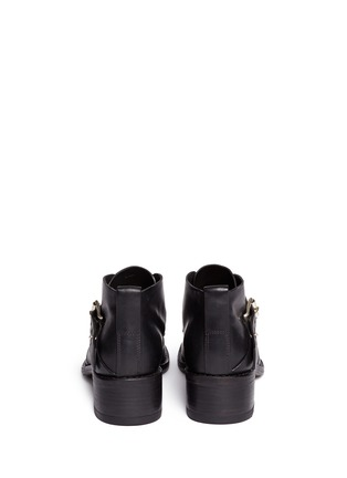 Back View - Click To Enlarge - rag & bone - 'Nevin' monk strap leather ankle boots