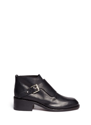 Main View - Click To Enlarge - rag & bone - 'Nevin' monk strap leather ankle boots