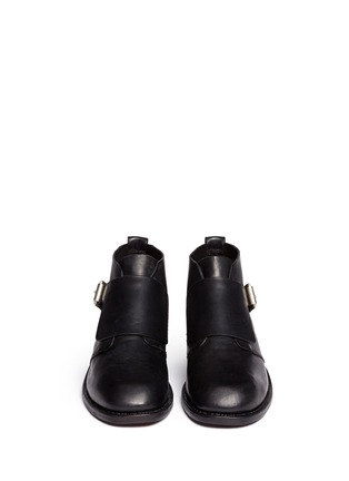 Figure View - Click To Enlarge - rag & bone - 'Nevin' monk strap leather ankle boots