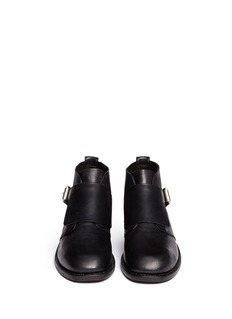 RAG & BONE 'Nevin' monk strap leather ankle boots