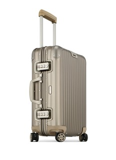 RIMOWA Topas Titanium Multiwheel®铝制行李箱(32升 / 21.7寸)