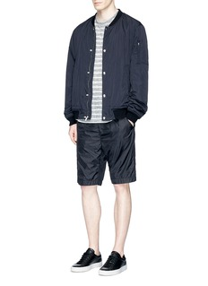 T By Alexander Wang Washed nylon bomber jacket
