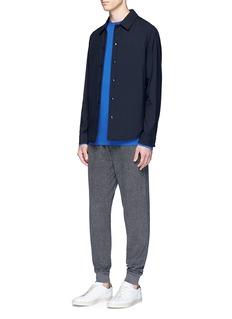 T By Alexander Wang Mercerised cotton long sleeve T-shirt