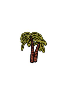Marc Jacobs Double palm tree embroidered patch