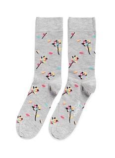 Happy SocksRose petal socks
