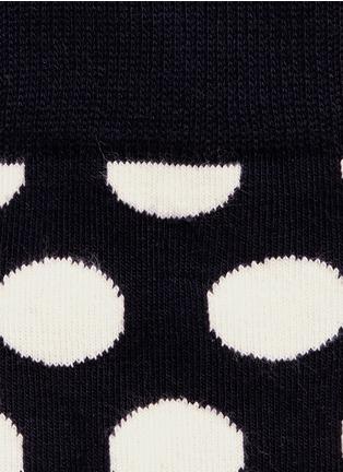 Detail View - Click To Enlarge - Happy Socks - Big polka dot socks