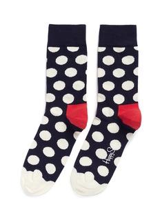 Happy SocksBig polka dot socks