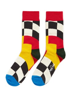 Happy Socks x Royal Enfield big flag socks
