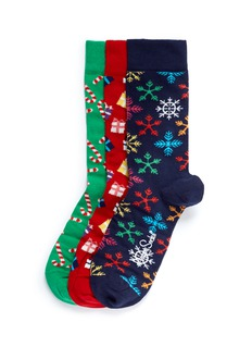 Happy Socks Christmas socks 3-pair pack
