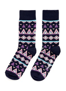 Happy Socks 'Temple' tribal socks