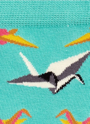 Detail View - Click To Enlarge - Happy Socks - Origami socks