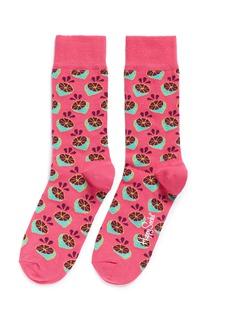 Happy SocksLime socks