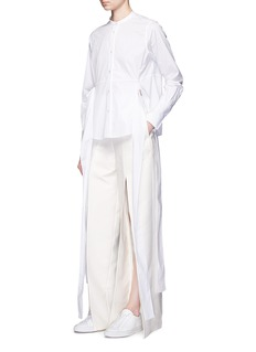 Ports 1961 Split wide leg pants