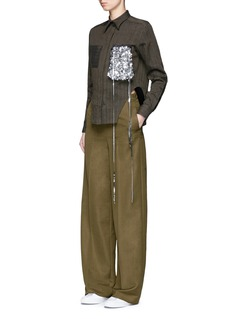 Ports 1961Wool-mohair wide leg pants