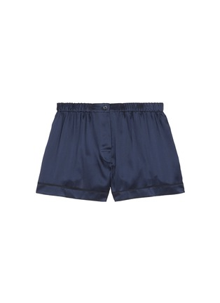 Main View - Click To Enlarge - Araks - 'Tia' silk charmeuse boxer shorts