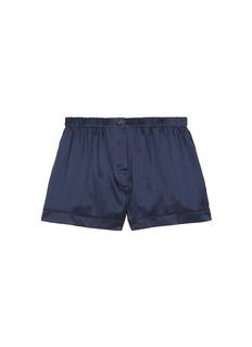 Araks'Tia' silk charmeuse boxer shorts