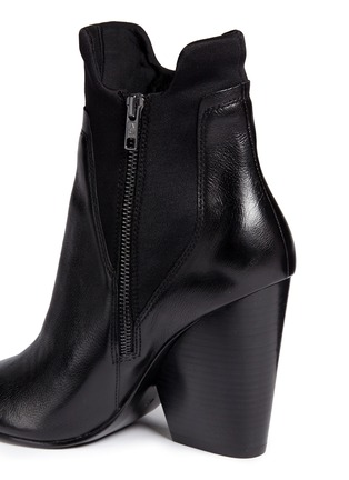 Detail View - Click To Enlarge - Ash - 'Bazar' neoprene panel leather ankle boots