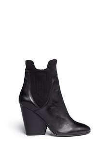 Ash'Bazar' neoprene panel leather ankle boots