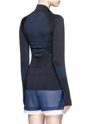 Back View - Click To Enlarge - Lndr - 'Base' circular knit performance jacket