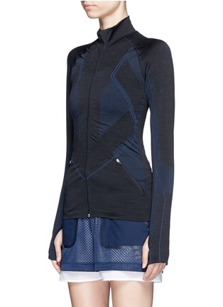 Front View - Click To Enlarge - Lndr - 'Base' circular knit performance jacket