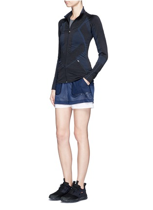 Figure View - Click To Enlarge - Lndr - 'Base' circular knit performance jacket