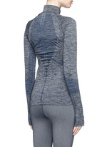 'Base' circular knit performance jacket
