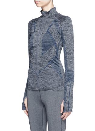 Front View - Click To Enlarge - LNDR - 'Base' circular knit performance jacket