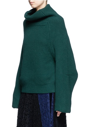 Front View - Click To Enlarge - TOGA ARCHIVES - Merino wool turtleneck sweater