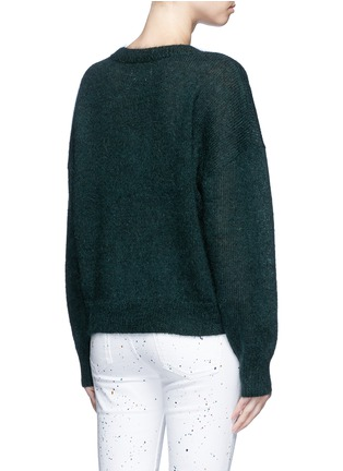 Back View - Click To Enlarge - Isabel Marant Étoile - 'Clifton' mohair blend sweater