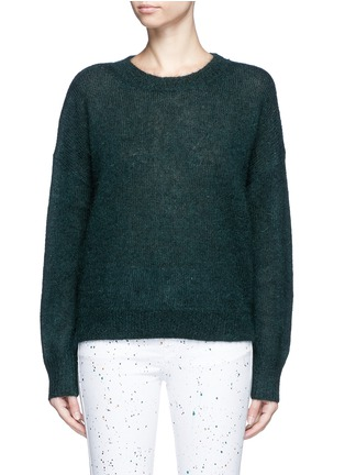 Main View - Click To Enlarge - Isabel Marant Étoile - 'Clifton' mohair blend sweater