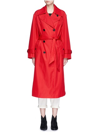 Main View - Click To Enlarge - Isabel Marant Étoile - 'Dani' twill trench coat
