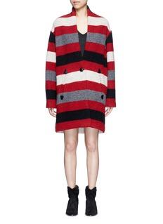 Isabel Marant Étoile'Gabrie' stripe wool blend bouclé jacket