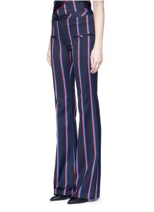 正面 -点击放大 - ALTUZARRA - SERGE条纹羊毛混棉喇叭裤